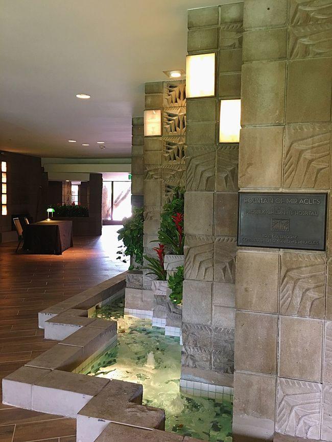 Waldorf Astoria Resort Frank Lloyd Wright Travel Traveling Travel Destinations ArtWork Art Lobby Arizona