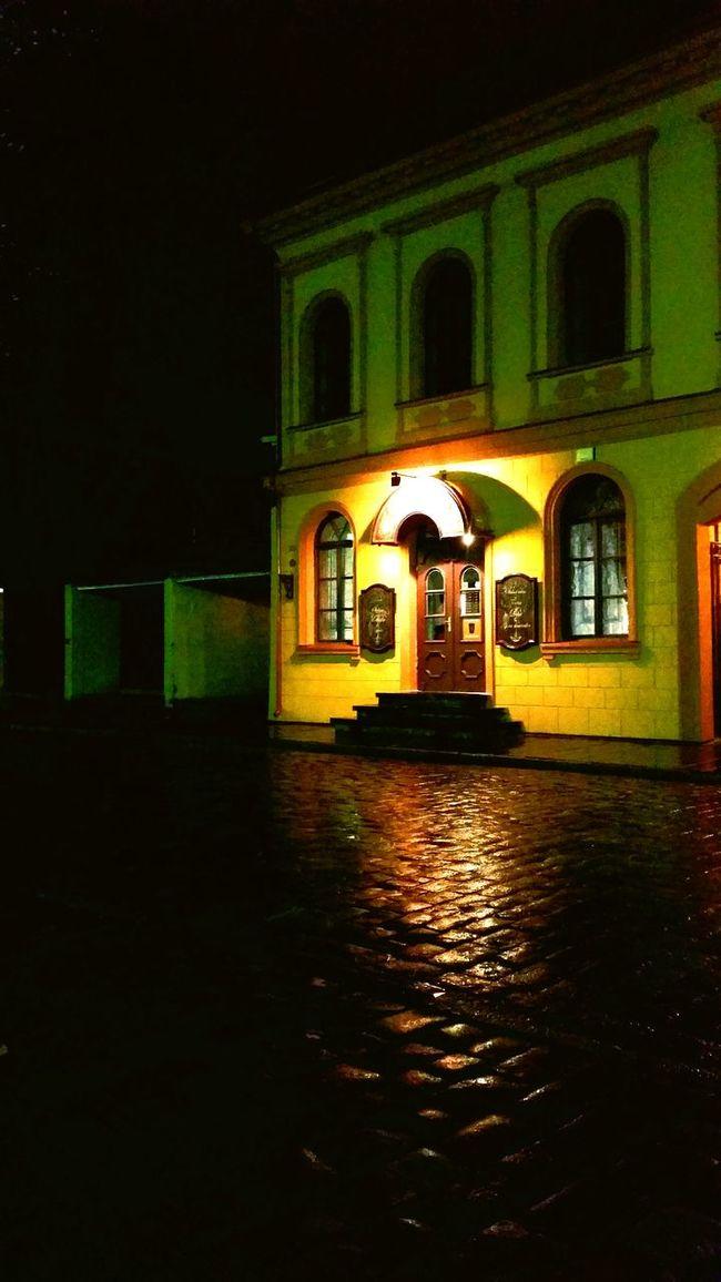 Evening Walking Around Beautiful Restaurant Orange 🌆🍸