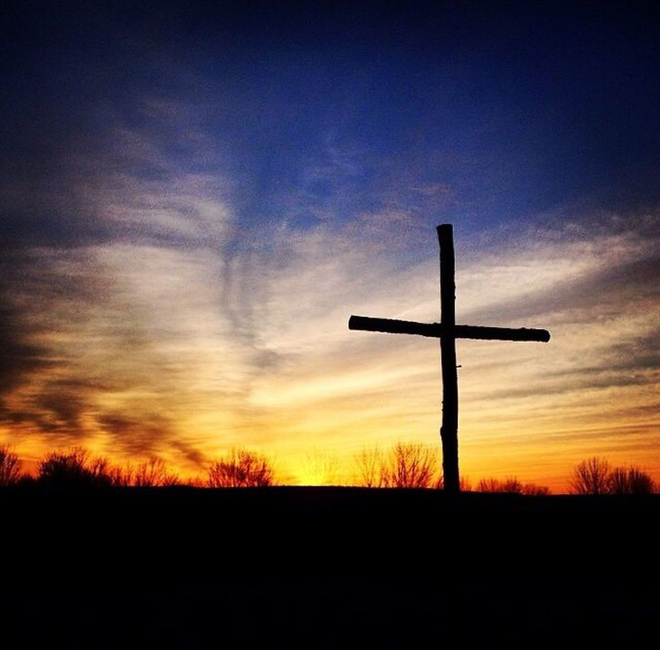 Easter Ready Easter Cross Sunrise Sunrise Silhouette Nature Photography Religion Christianity Sunrise Service Rainbow Colors