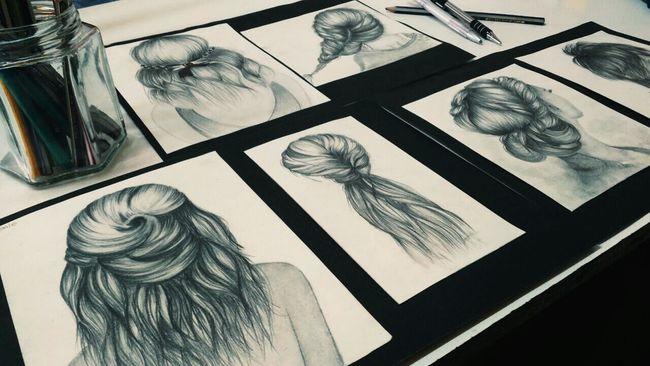 Art Lapiz Art Blackandwhite Black & White Pelo Dibujo Dibujo A Lapiz Dibujos :3 Dibujo Acabado!!