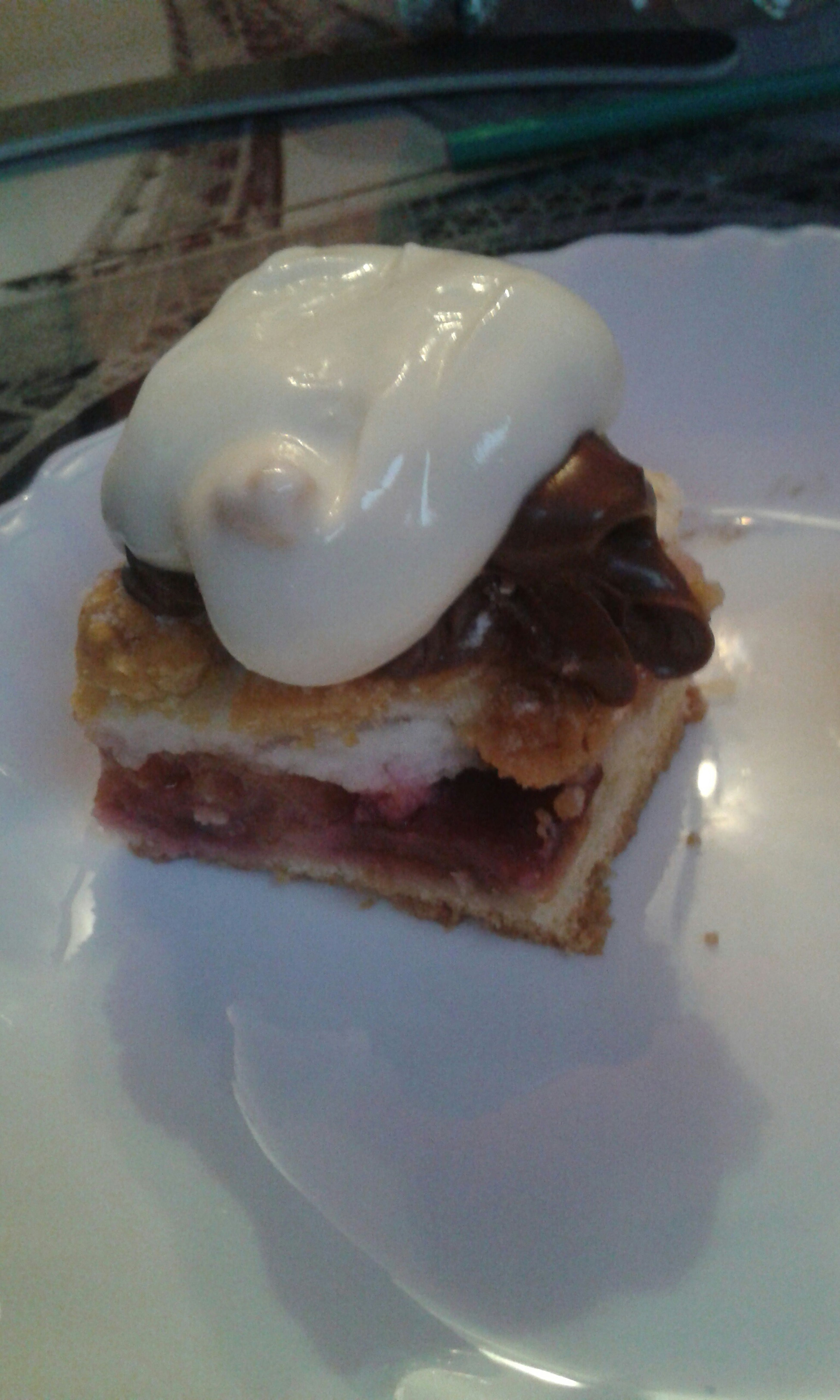 Cake With Nutella And Yoghurt
