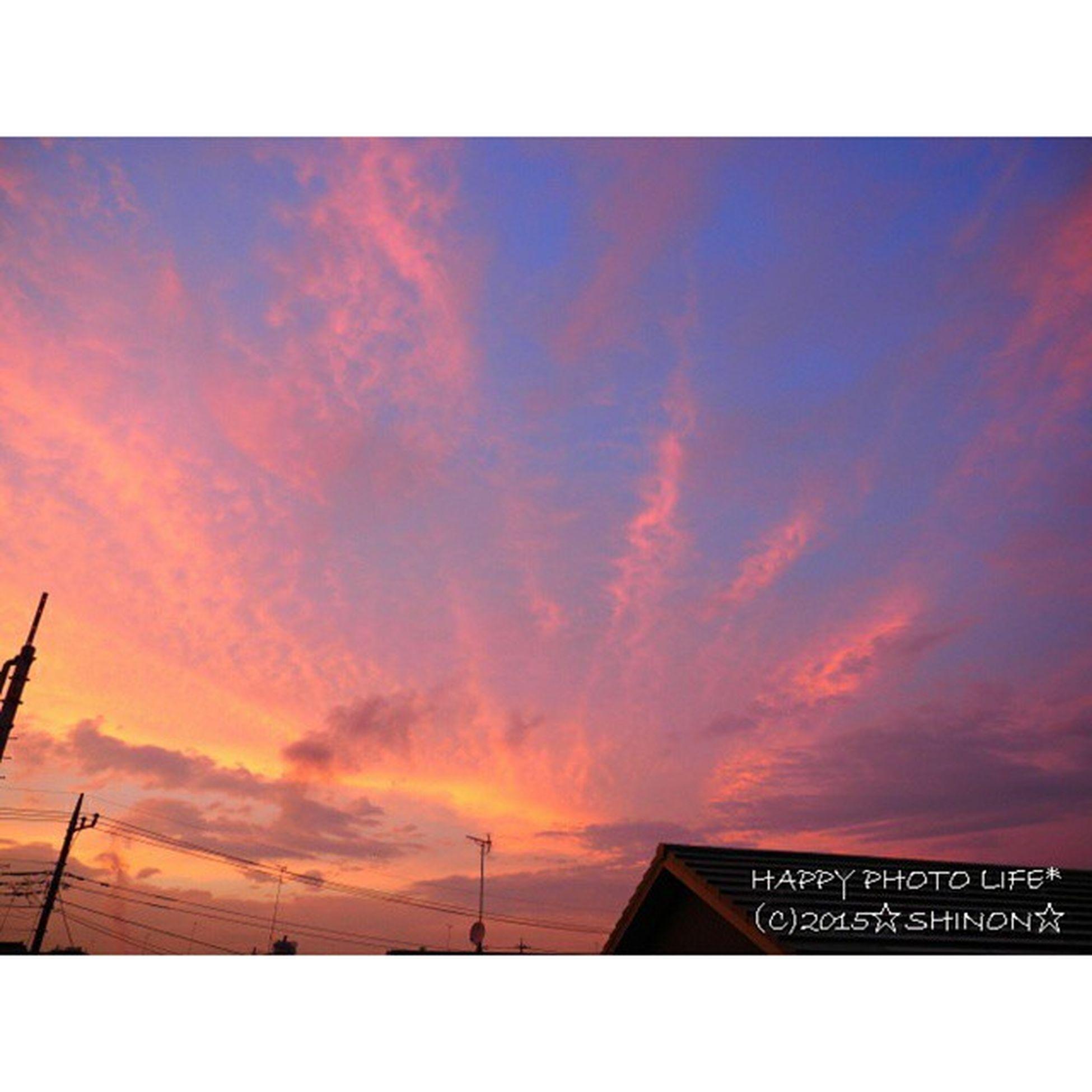 2015.06.28. * 今日も1日お疲れ様 明日も楽しい1日になりますように * 空 夕暮れ 昨日の空 Sky olympus om_d e_m1 my_pic