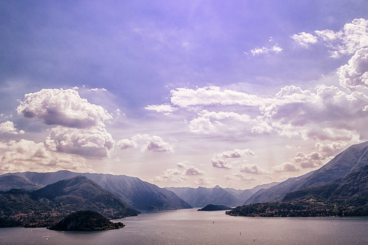 Mountain Cloud - Sky Landscape No People Water Outdoors Sky Landscape_Collection Travel Destinations Silence Of Nature Italy🇮🇹 Beauty In Nature Nature Lakecomo EyeEm Nature Lover Lago Di Como, Italy