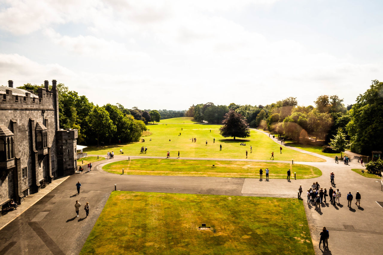 Day Grass Irleand Kilkenny Kilkenny Castle Landscape Nature Outdoors