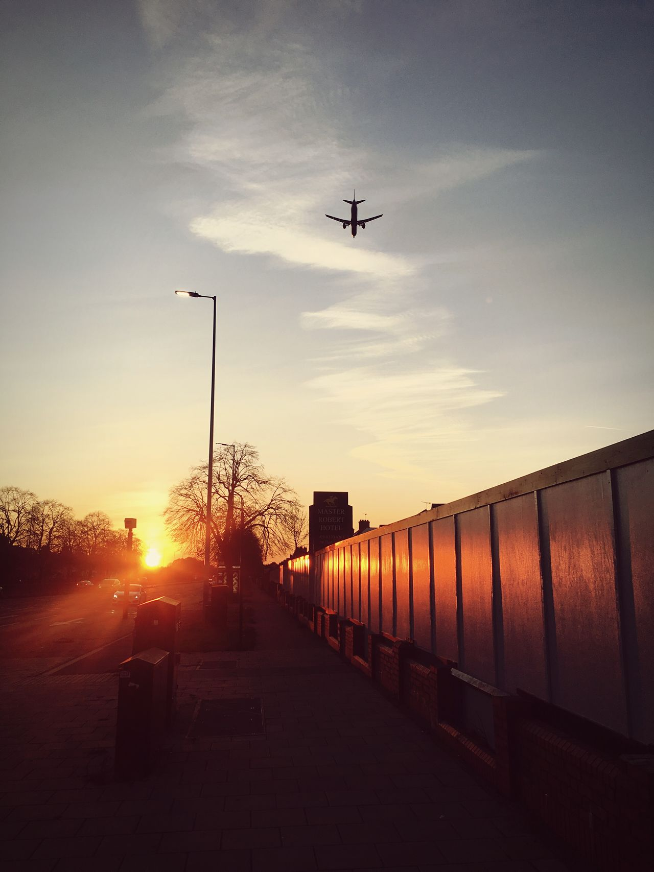 Sunset Transportation Flying Airplane Sky Mode Of Transport Air Vehicle No People Outdoors Building Exterior Sun Nature Architecture Day Fresh On Eyeem  EyeEm Best Shots - The Streets Urban Exploration Streetphotography Silhouette The Week Of Eyeem EyeEm Best Shots