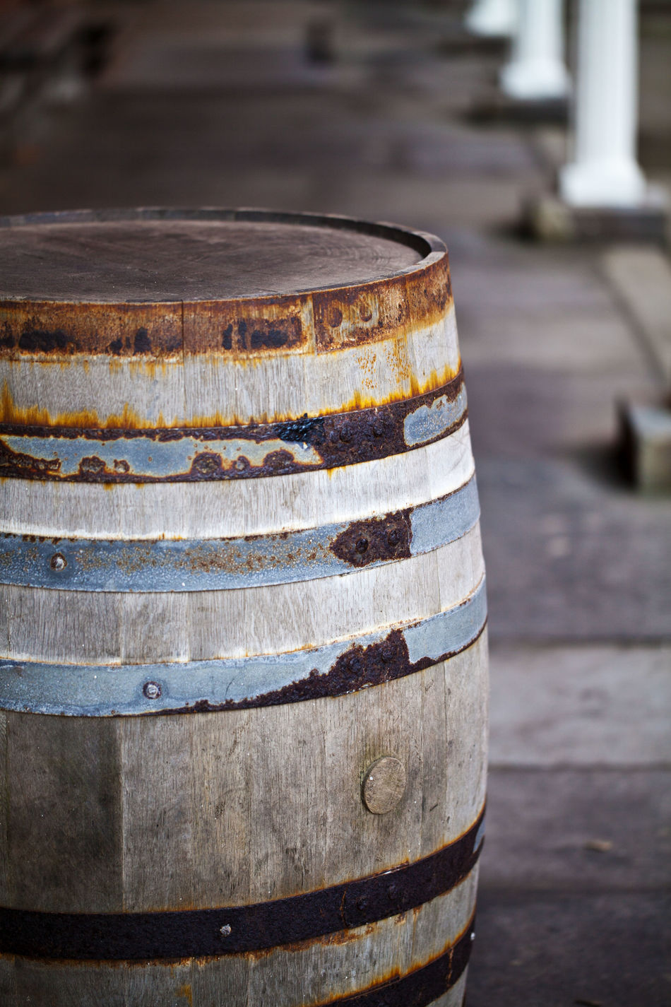 Barrel Close-up Day Focus On Foreground Industrial No People Outdoors Vintage