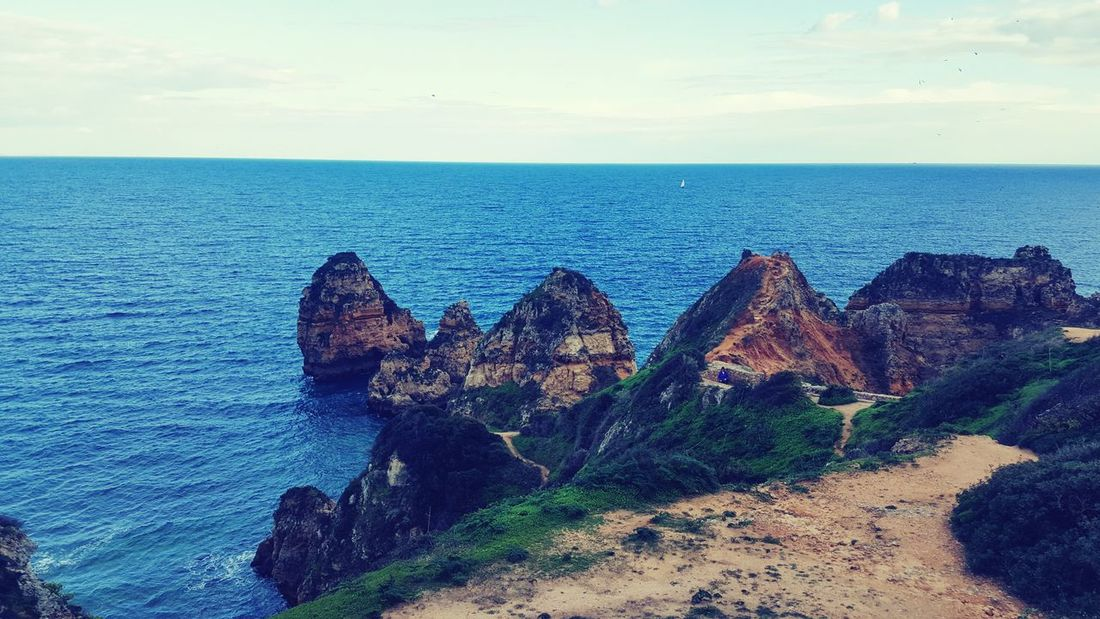 Blue Sky Sea Outdoors Nature No People Tranquil Scene Scenics Beauty In Nature Day