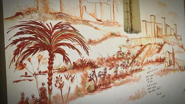 Painting Wall Houses Albanian History Durres Streetart Dayart
