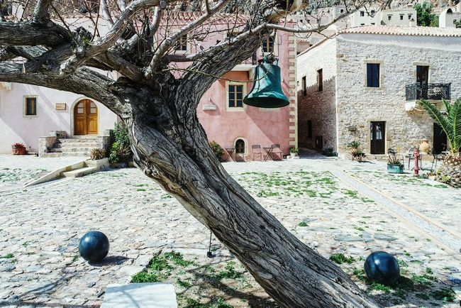 Ring the bell.. in Monemvasia, Greece Bell Taking Photos EyeEm Best Shots Summer Memories 🌄 Colour Of Life Eye4photography  Open Edit Fresh 3 Color Palette Home Is Where The Art Is Tree TreePorn Tree_collection  Eyeemphoto
