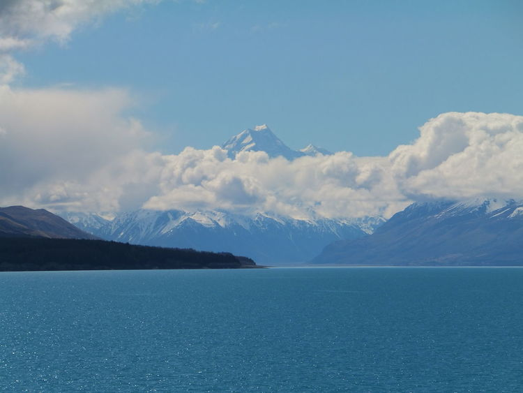 Nature Mount Cook Lake Pukaki Mountains New Zealand Turquoise Water The Great Outdoors - 2017 EyeEm Awards Live For The Story