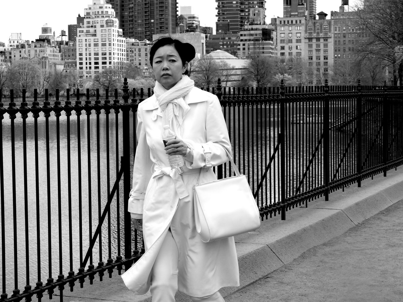White Lady Blackandwhite Newyork Street Photography Black & White Streetphoto_bw