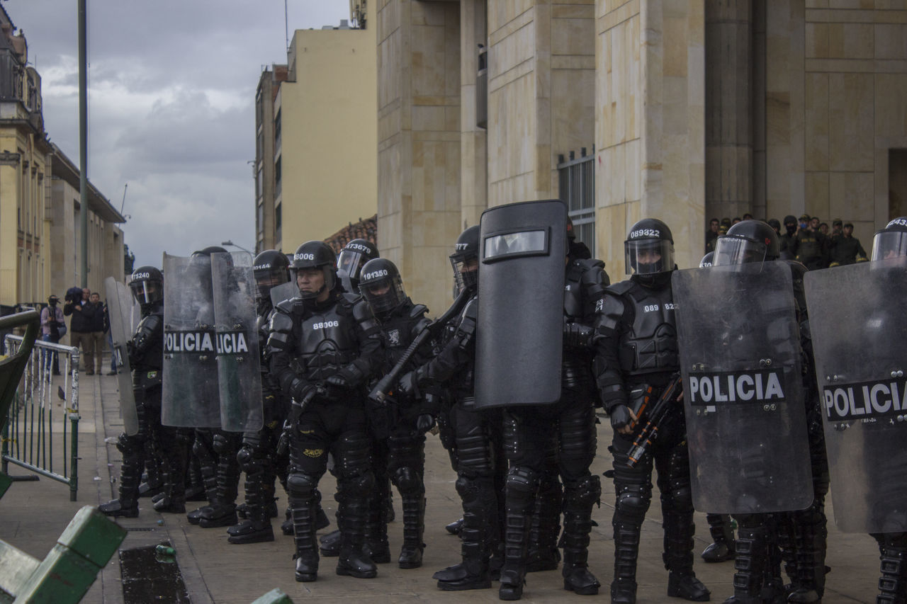 Beautiful stock photos of police,  Authority,  Black Color,  Bogota,  Building Exterior