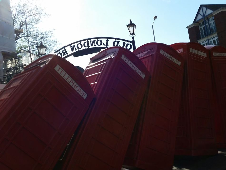 Telephone Box Red Redphonebox Kingston Upon Thames Art Artinstallation Phone