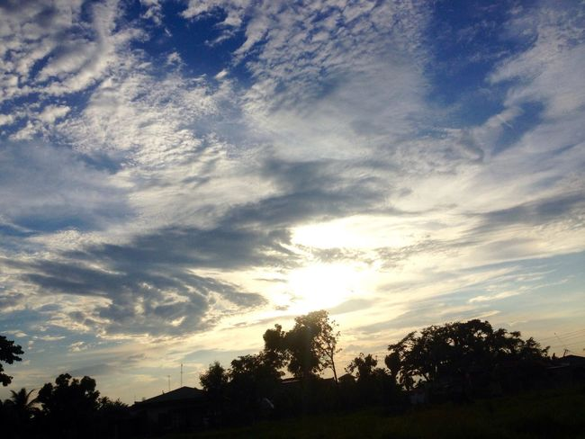 Outcast Rural View Hello World Sky Cloudandsky Light Light And Shadow Blue Clouds Nature Photography Low Angle View Beauty Beuturamulta