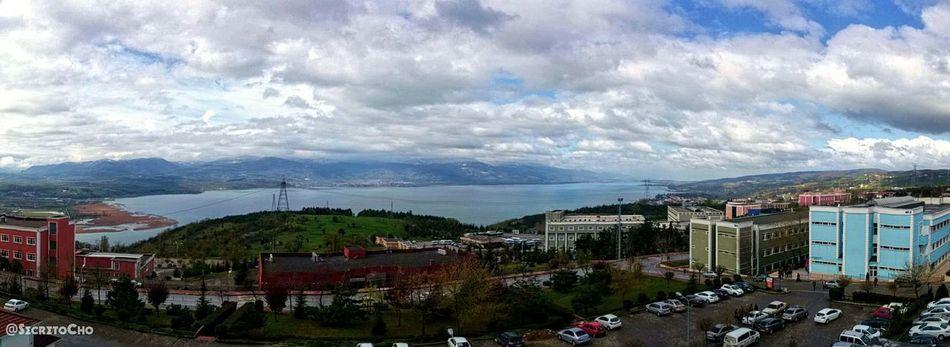 First Eyeem Photo Sakaryauniversitesi University View Enjoying Life Clouds Lake View Lake School Sky Collection