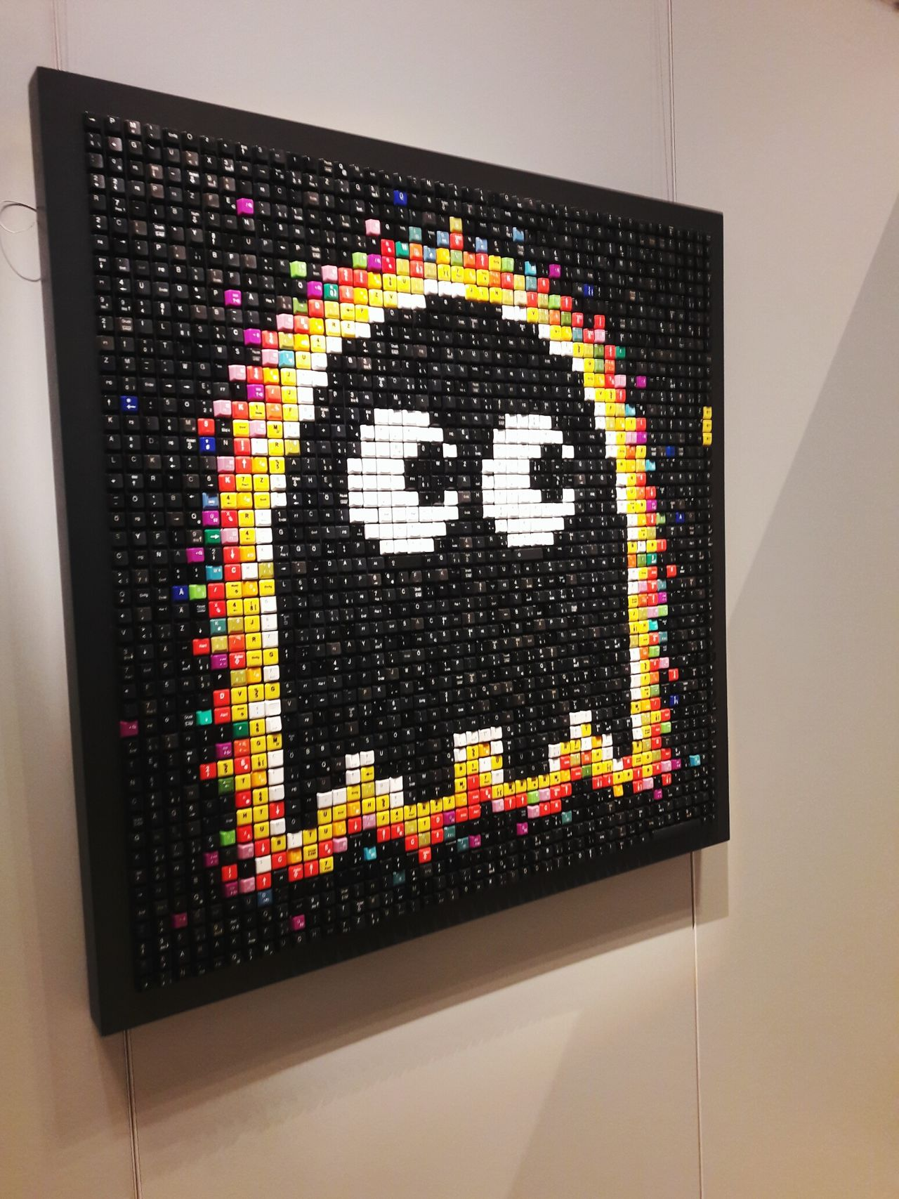 Multi Colored No People Indoors  Day Oldschool Retro Retrogames Close Up Technology Pacman Pacmanfamily Pacman Art PacmanArt Ghost Retro Styled Retro Games
