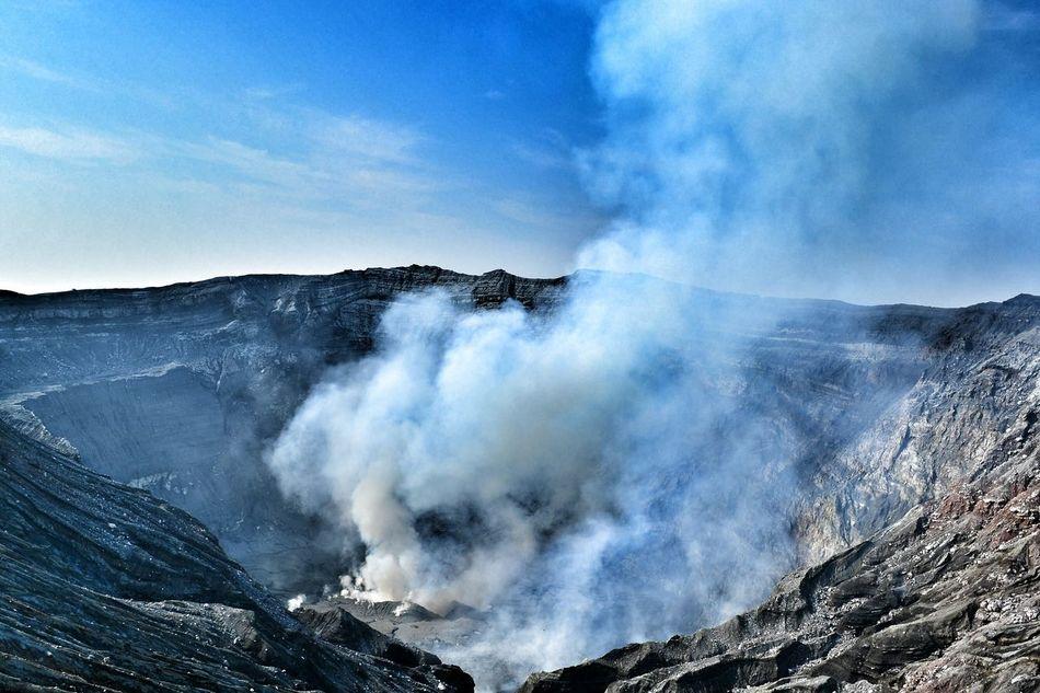 Beautiful stock photos of smoke, Active Volcano, Ash, Cliff, Day