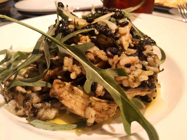 Risotto Polo Fungi Pasta Risotto Dinner Tungsten