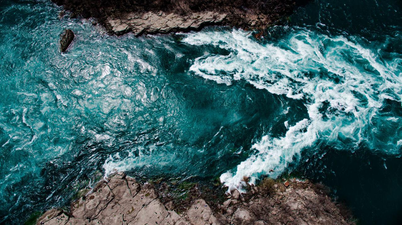 Beautiful stock photos of niagara falls, Aerial View, Beauty In Nature, Canada, Day