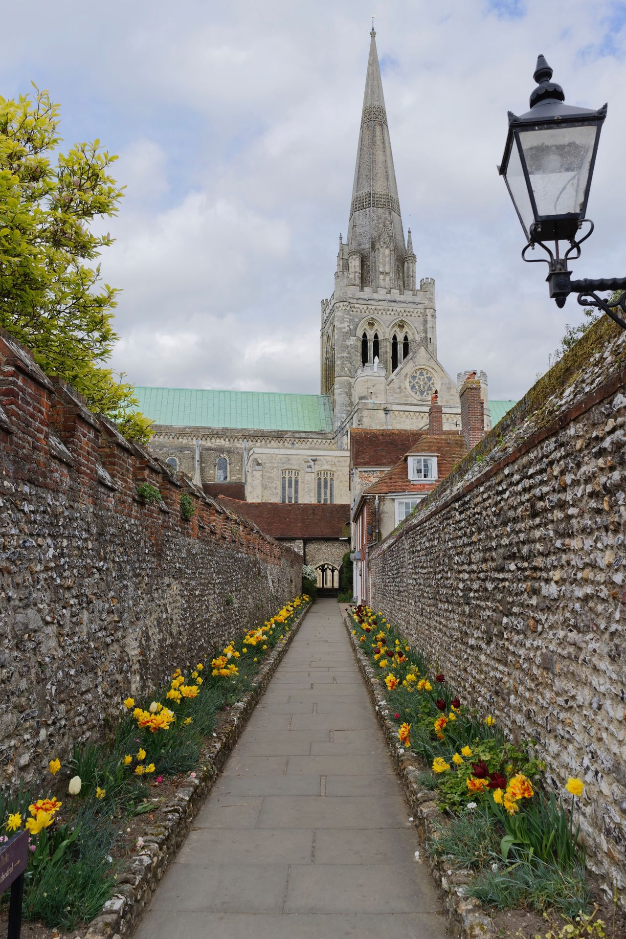 Path to the Chichester Cathederal Place Of Worship Building Exterior No People First Eyeem Photo