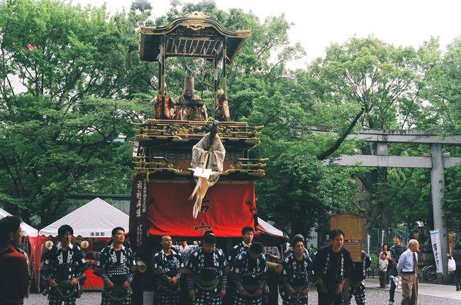 Nagoya Festival Hatimannsha 若宮祭 Float Festival Car Japan 福禄寿車