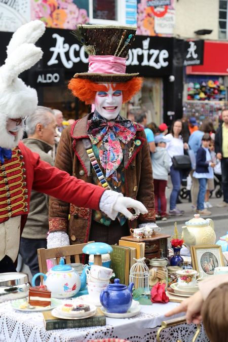 Artist Camden Town EyeEm LOST IN London Alice In Wonderland Camdenmarket Street Street Photography Streetphotography