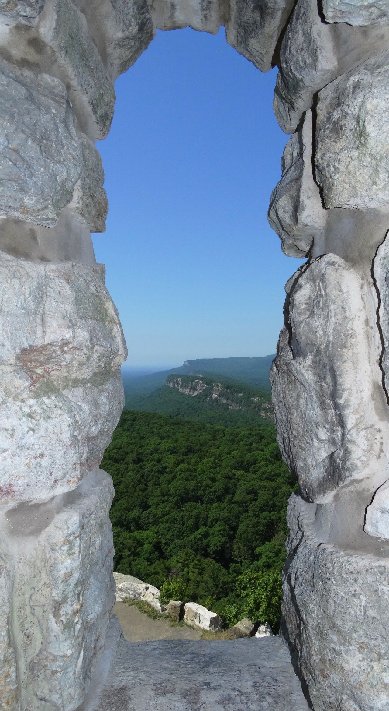 Look with your heart, not with yours eyes. There is no other way to truly see. Rock Formation Geology Rock - Object Nature Beauty In Nature Tranquility Day Scenics Mountain No People Physical Geography Landscape Cliff Sky Clear Sky Travel Destinations Outdoors Tree Mohonk Preserve