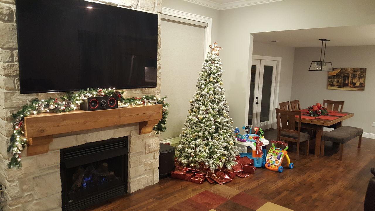 Twas the night before Christmas Christmas Christmas Tree Gift Indoors  Home Interior Samsung Galaxy Note 5 Blessed  Living Room Home Showcase Interior Loving Life! ! ! My Point Of View! Hello World