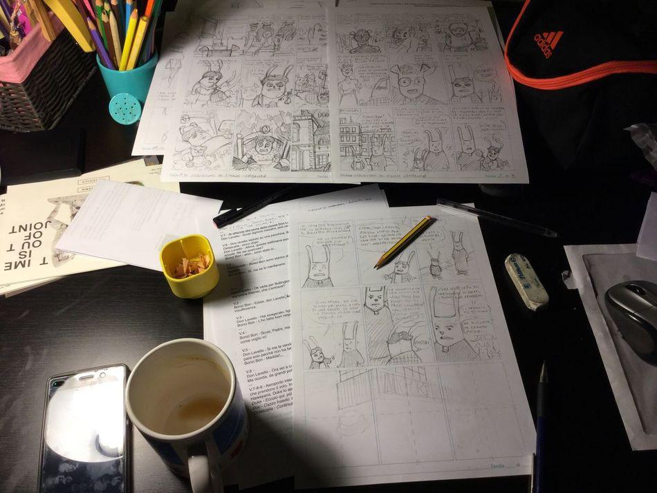 Desktop Comics The Animal Chain Working Disorder Pencil Drawing Sketch Sketching EyeEmNewHere