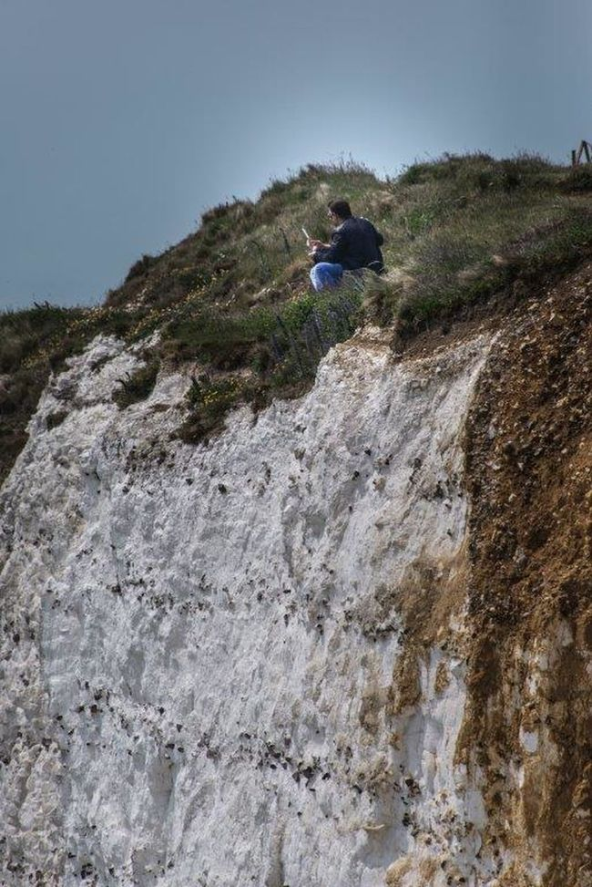 Beachyhead Beachy Head England🇬🇧 England Hanging Out Cliffside Cliff View Clifftop Seaview