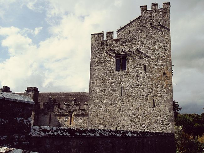 Architecture Built Structure Building Exterior Low Angle View Brick Wall Wall - Building Feature Sky Old Stone Wall Cloud - Sky Castle