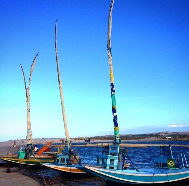 Nautical Vessel Day No People Water Sea Outdoors Blue Moored Nature Clear Sky Sky Praia Prainha Brazil Ceará TheBestOfBrazil