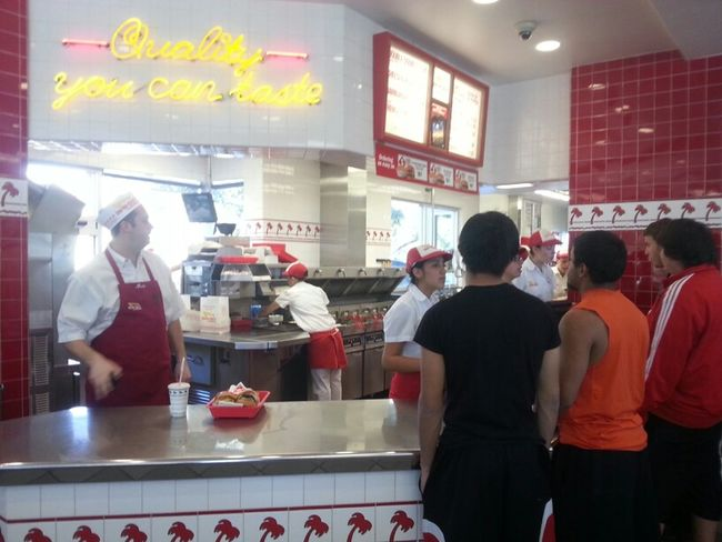 YES SIR!! In N Out Burger (;