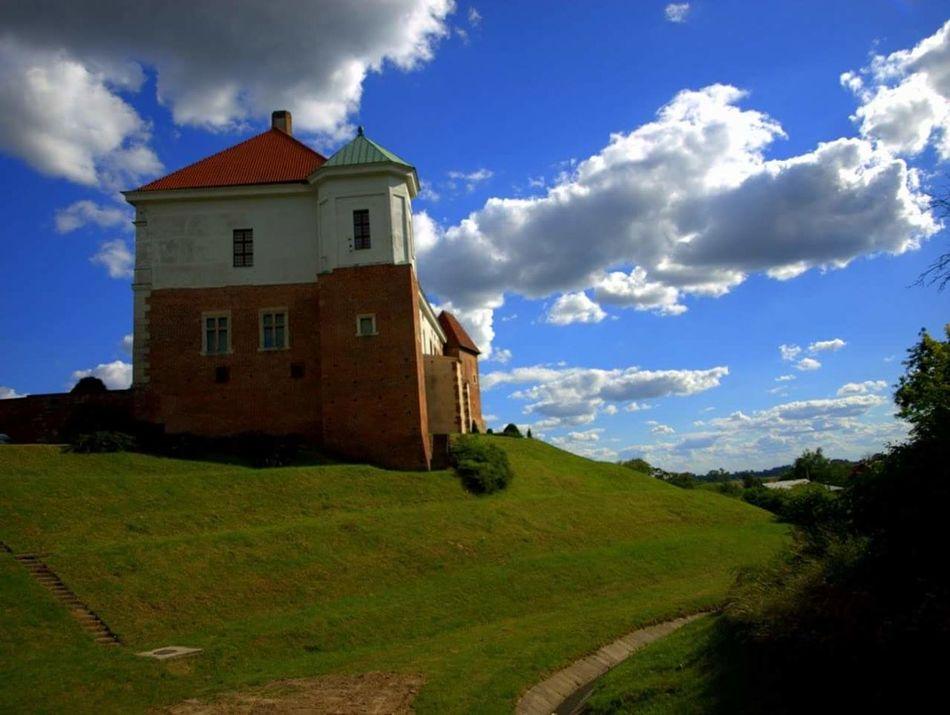 Zamek  Castle Sandomierz Ojciec Mateusz