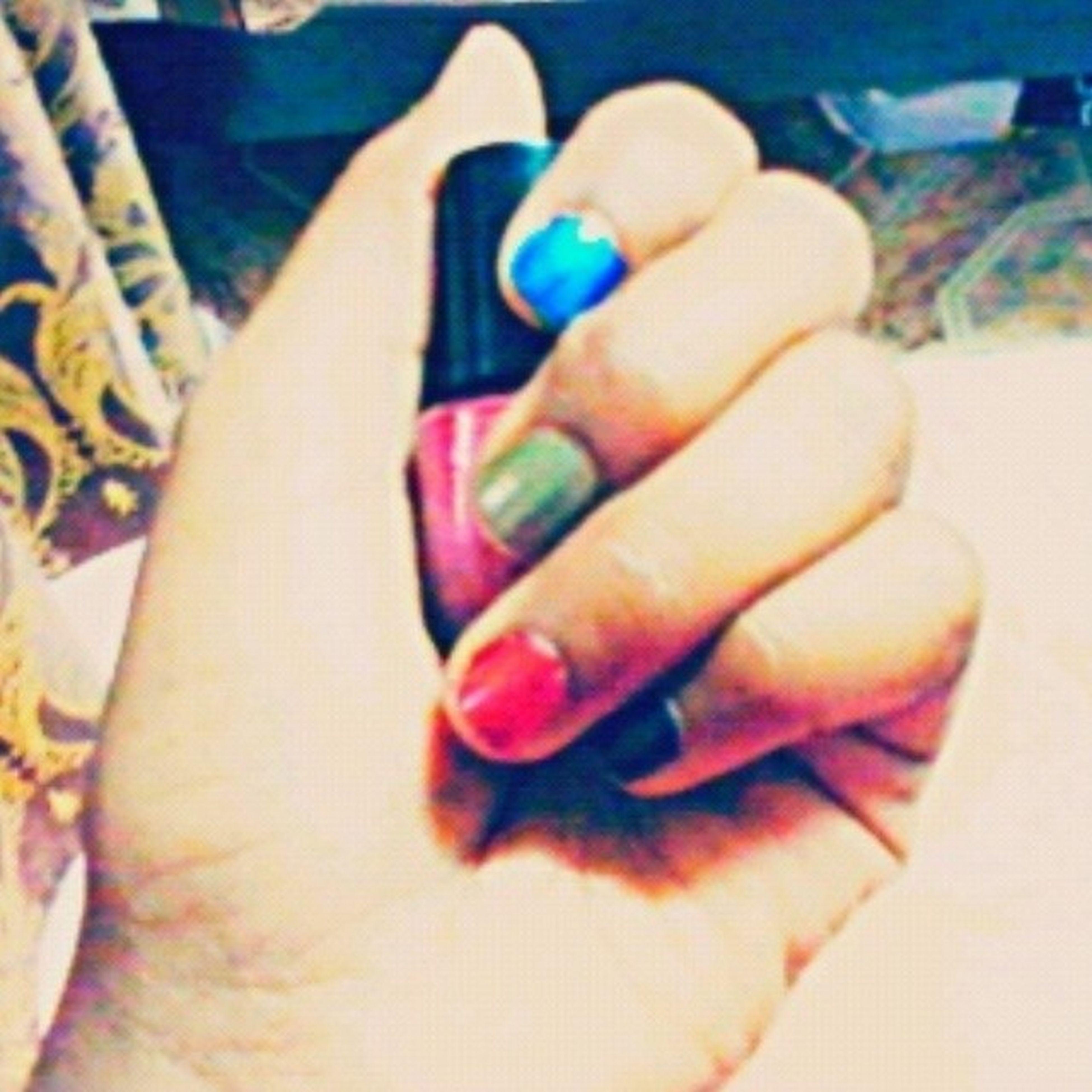 Me doing nail polishing to waste Time Nailpolishing Boring Wastingtime