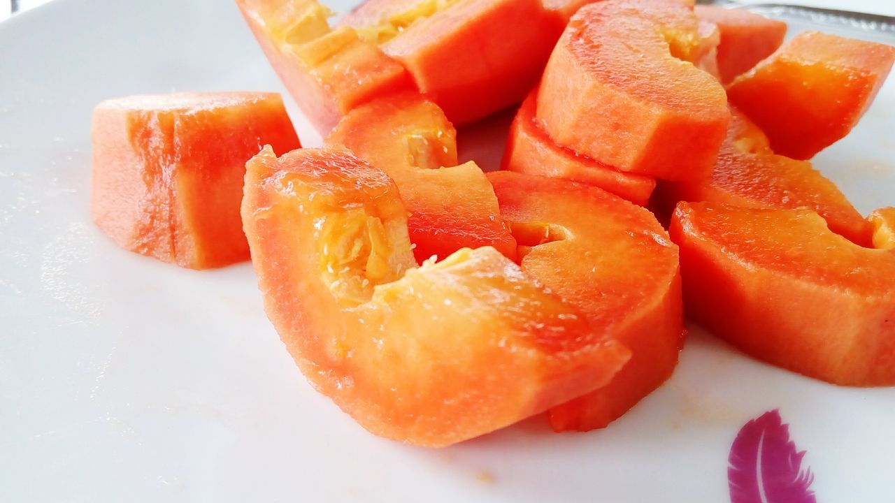Healthy Eating Orange Color Food SLICE Freshness Food And Drink No People Close-up Indoors  Cold Temperature Grapefruit Flavored Ice Blood Orange Day