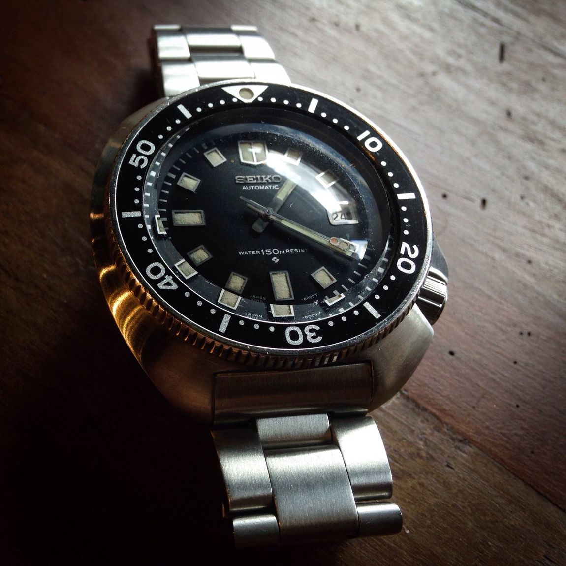 Seiko Watch Time Wristwatch Metal seike6105