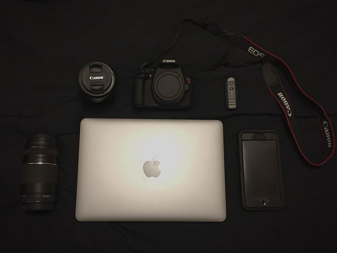 My gear. Freelance Life MacBook Canon Photography WJII Photography Open Edit