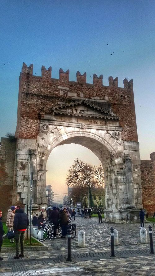 Built Structure Arch Travel Destinations Architecture City History Triumphal Arch Outdoors Building Exterior Vacations Cellphonepics Cellclick Cellphonephotography Cellphone Camera Cell Phone Photography Rimini2016 Rimini, Italy Holiday - Event Architecture