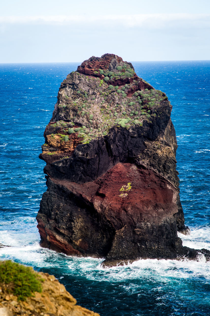 Stack Rock In Sea