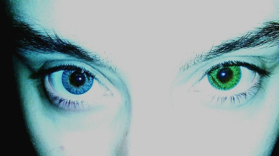 Eyes Manipulated Colored Contacts