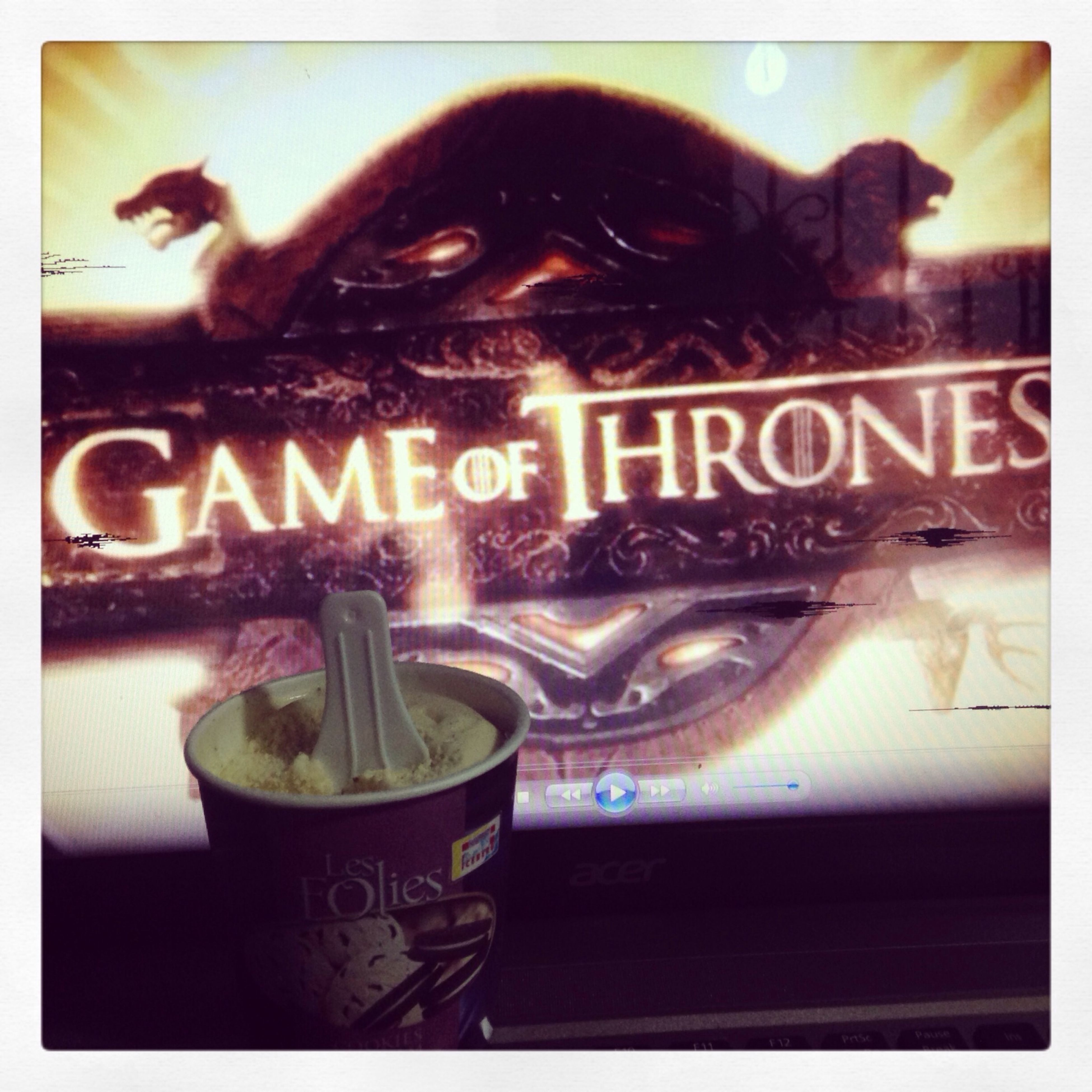 Youmustwatch Gameofthrones Amazingseries Housestark love love love LOVE it ! I will begin season 3 soon! Can't wait to finish the second one!!