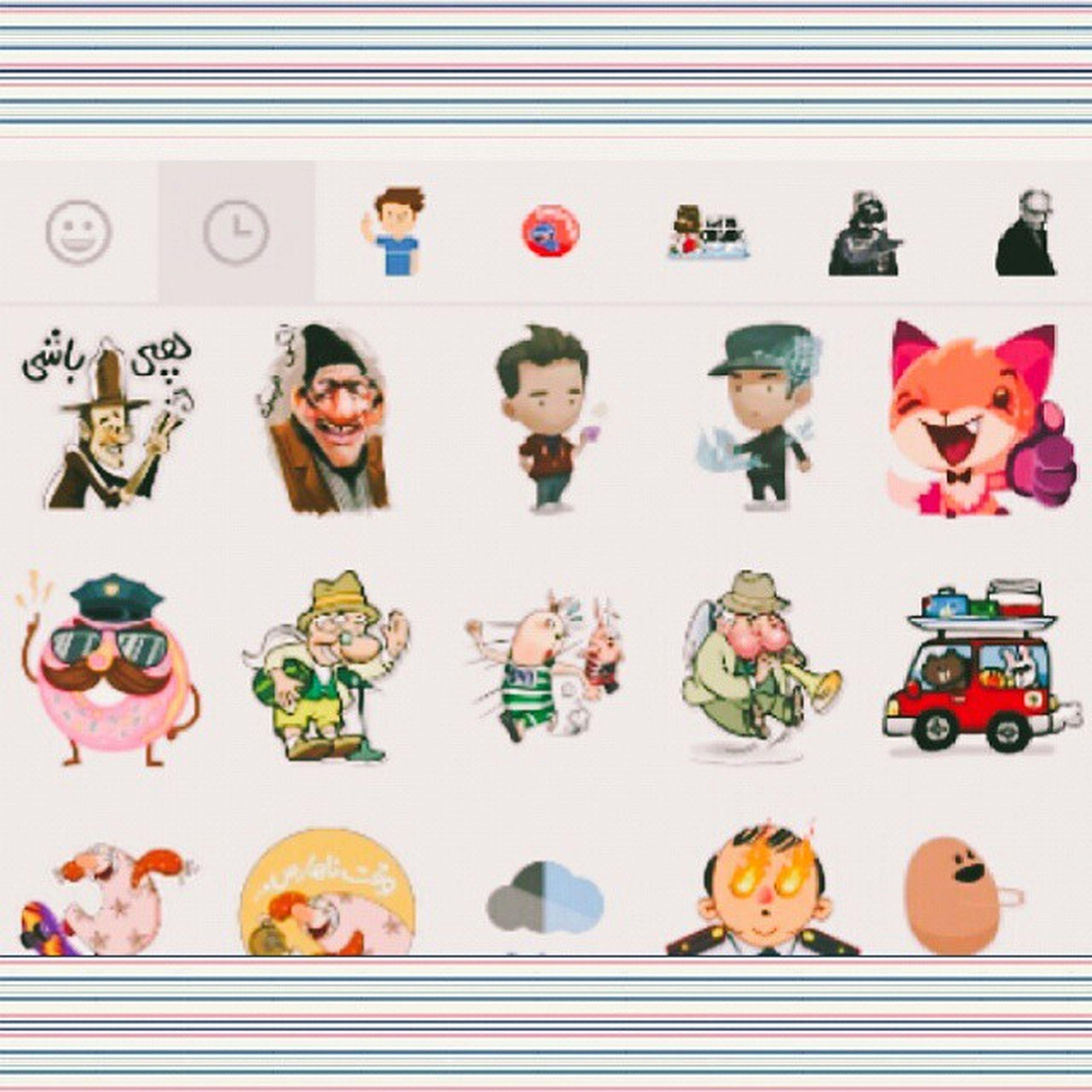 استیکر های تلگرام Telegram Stickers