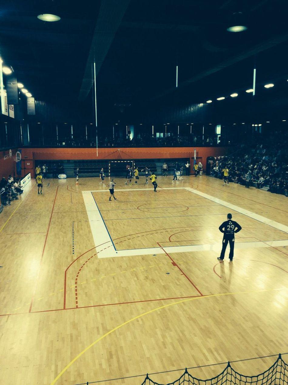 Beau match. Match Handball Rouen