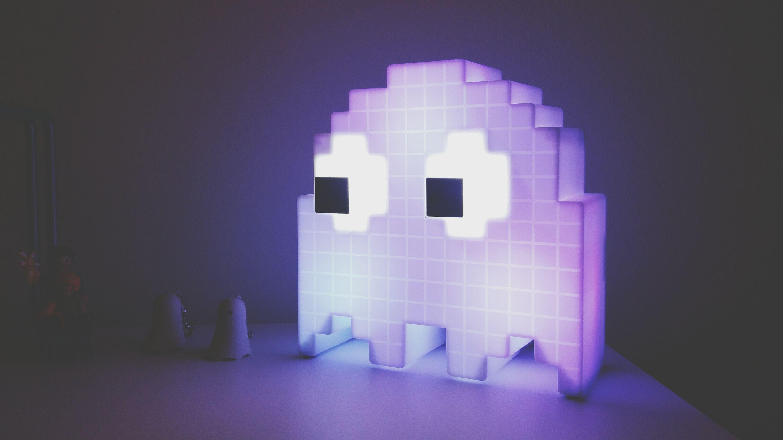 // Ghost_Crew // Pacman Art Pacman Pacman_zone Pacmanghost Colors NightER Illuminated