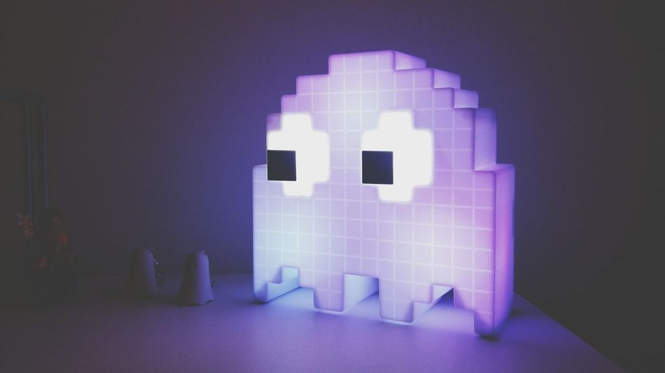 // Ghost_Crew // Pacman Art Pacman Pacman_zone Pacmanghost Colors NightER Illuminated