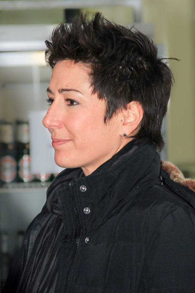 Dunja Hayali; German journalist and tv presenter Close-up Headshot Journalist Portrait Tv Presenter 🎥 Woman Dunja Hayali