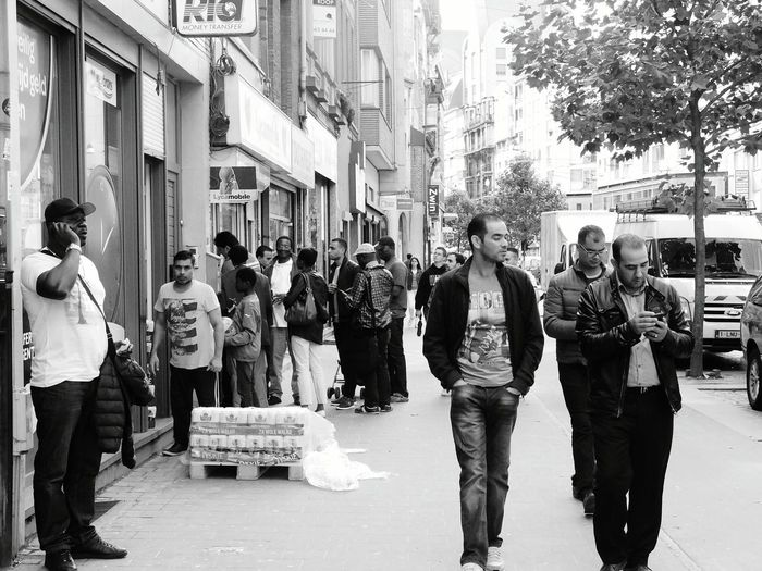 Lyca People Streetphotography Abroad Antwerp Blackandwhite Black And White Photography First Eyeem Photo Welcome To Black The Street Photographer - 2017 EyeEm Awards