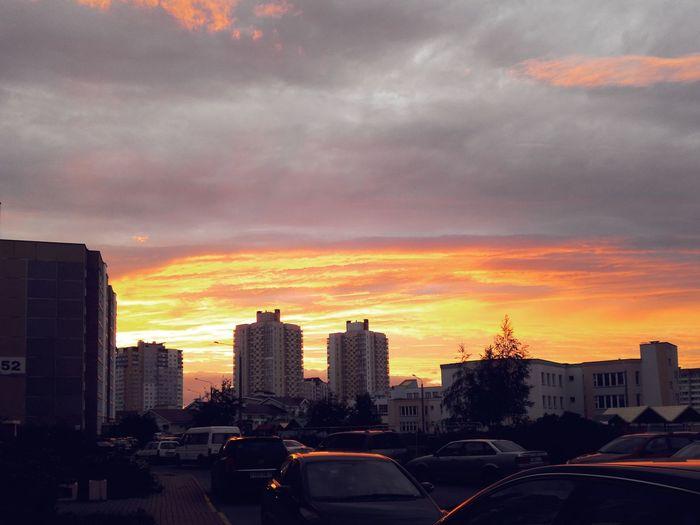 Sky Evening Sunset