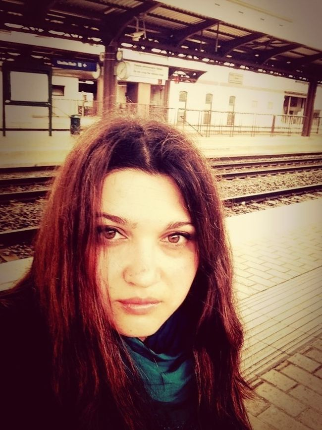 Waiting For A Train My Sister Public Transportation